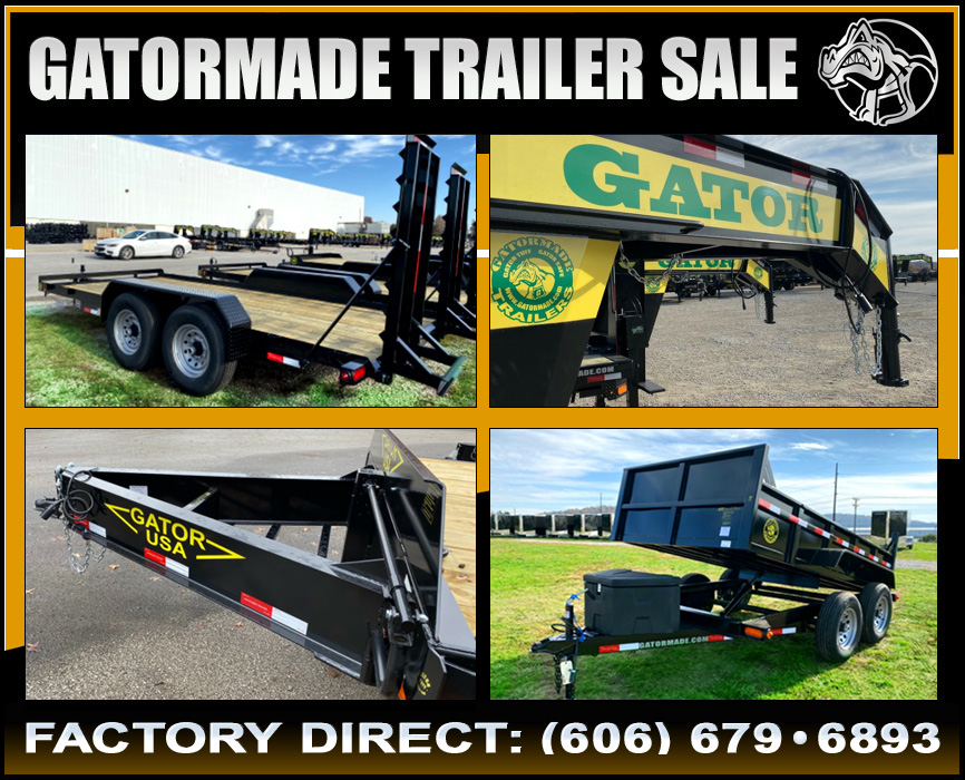 Gatormade Trailers On Sale